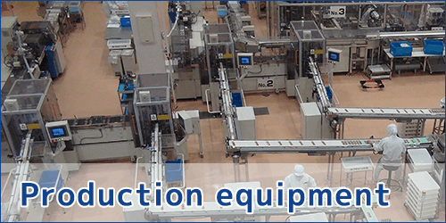 Production equipmwnt